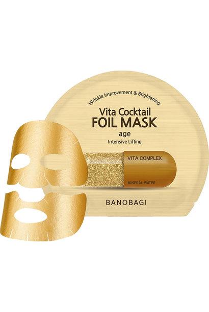 Vita Cocktail Foil Mask Age