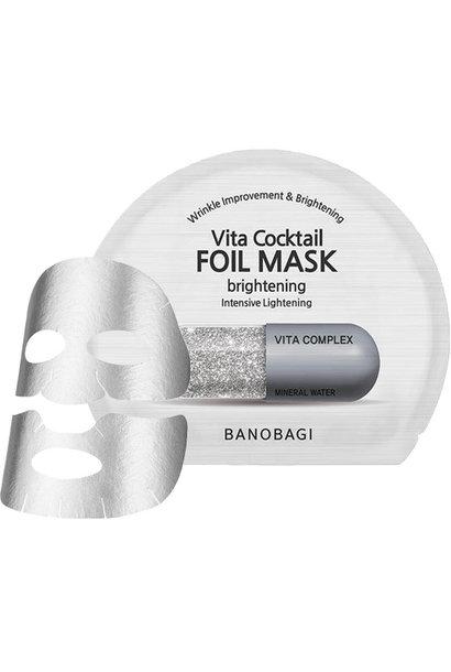 Vita Cocktail Foil Mask Brightening