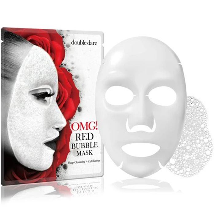 OMG! Red Bubble Mask-1
