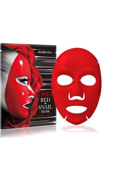 OMG! Red + Snail Mask Sheet