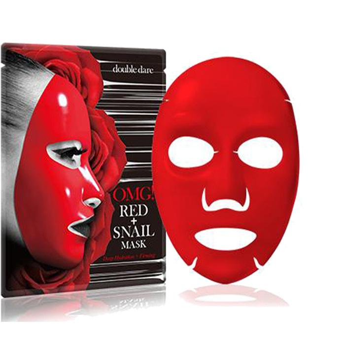 OMG! Red + Snail Mask Sheet-1