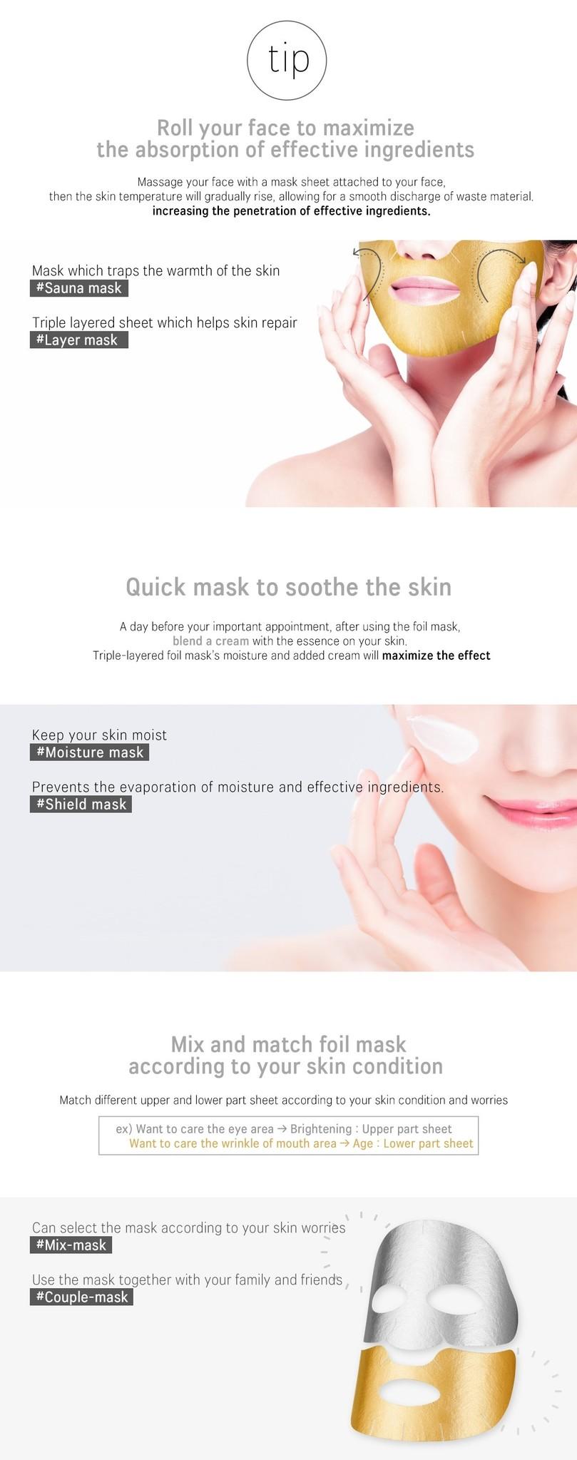 Vita Cocktail Foil Mask Brightening-7