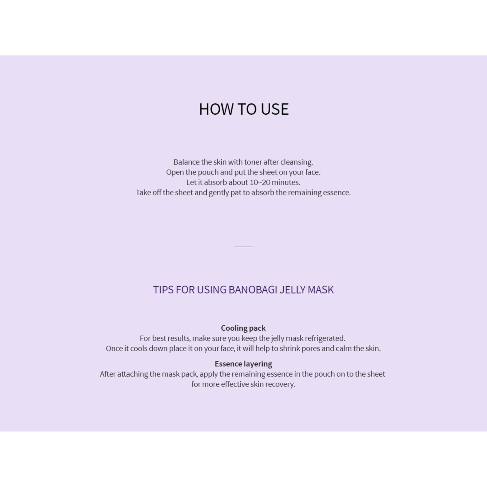 BANOBAGI Vita Genic Jelly Mask Vitalizing
