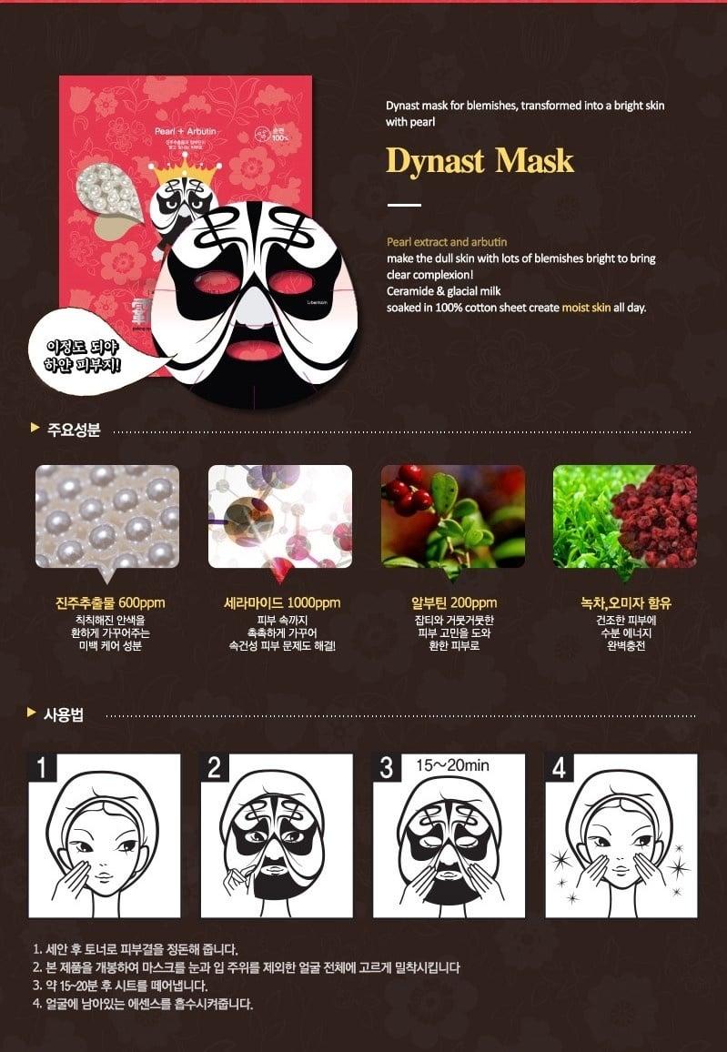 Peking Opera Tuchmaske Set King & Queen (2 Stk)-4
