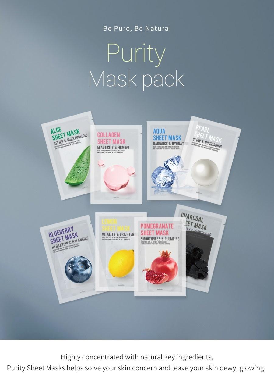 Purity Tuchmaske Mix Pack (8 Stk)-2