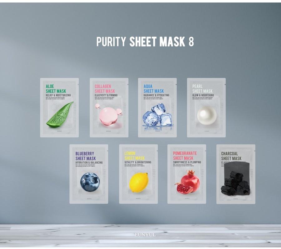 Purity Tuchmaske Mix Pack (8 Stk)-8