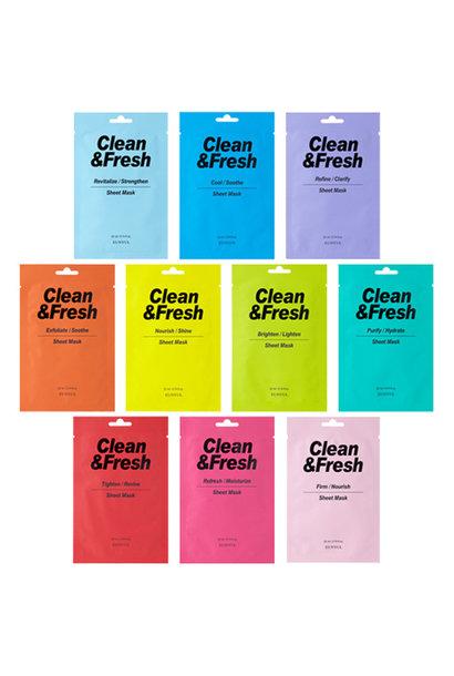 Clean & Fresh Tuchmaske Mix (10 Stk)