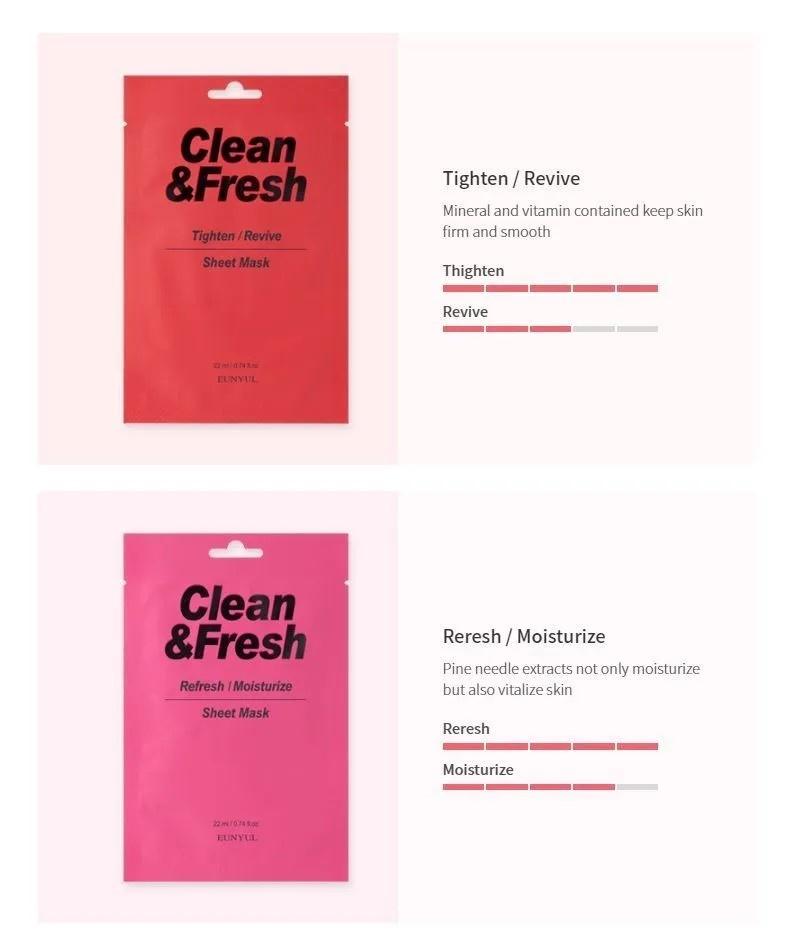Clean & Fresh Tuchmaske Mix Pack (10 Stk)-3