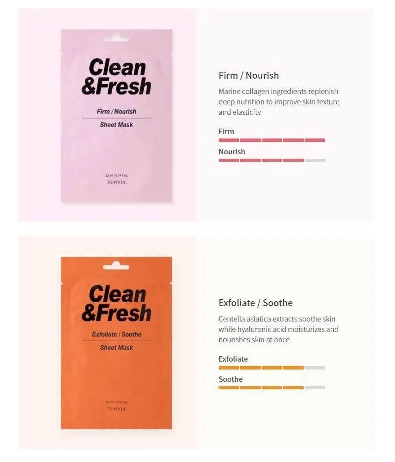 Clean & Fresh Tuchmaske Mix Pack (10 Stk)-4