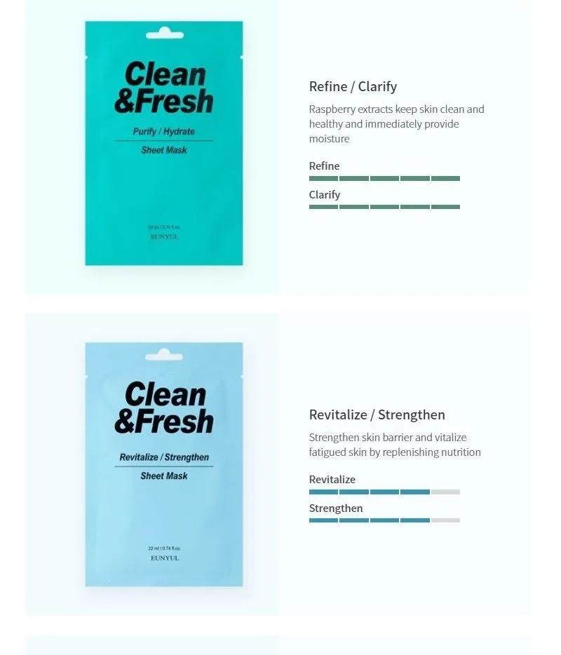 Clean & Fresh Tuchmaske Mix Pack (10 Stk)-6