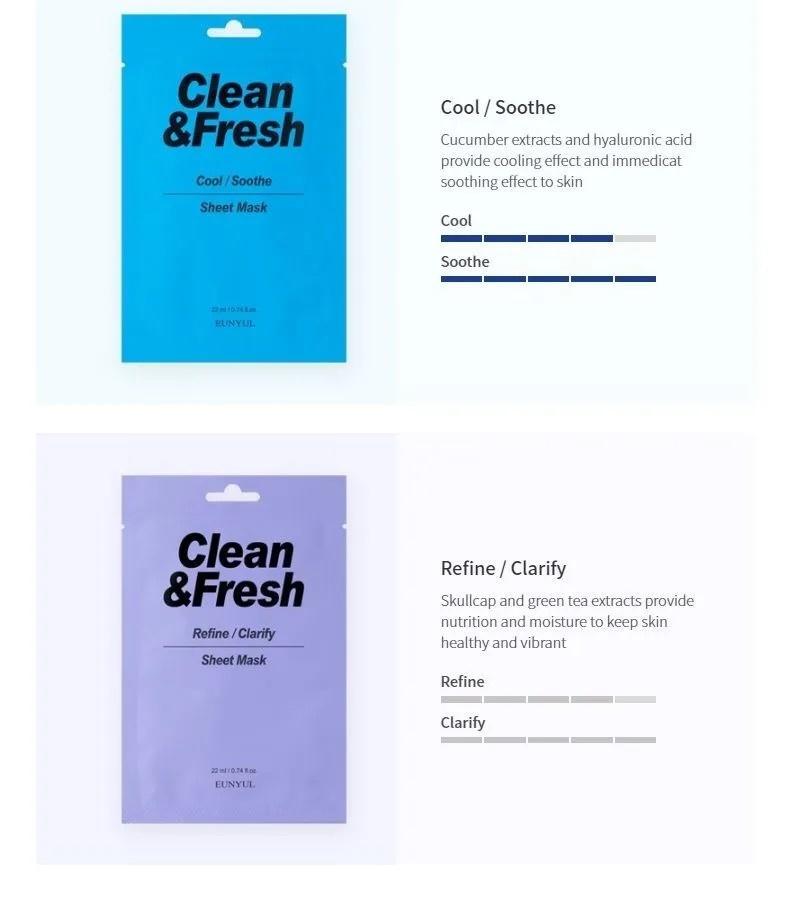Clean & Fresh Tuchmaske Mix Pack (10 Stk)-7