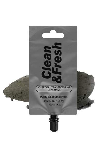 Clean & Fresh Clay Mask - Charcoal Transforming