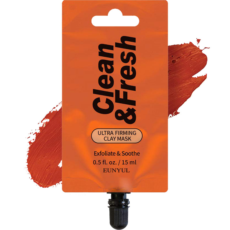 Clean & Fresh Clay Mask Pouch Pack - Ultra Firming-1