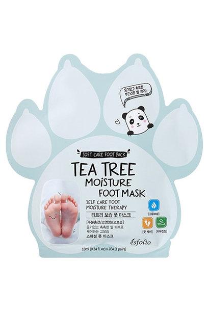 Tea Tree Moisture Fussmaske