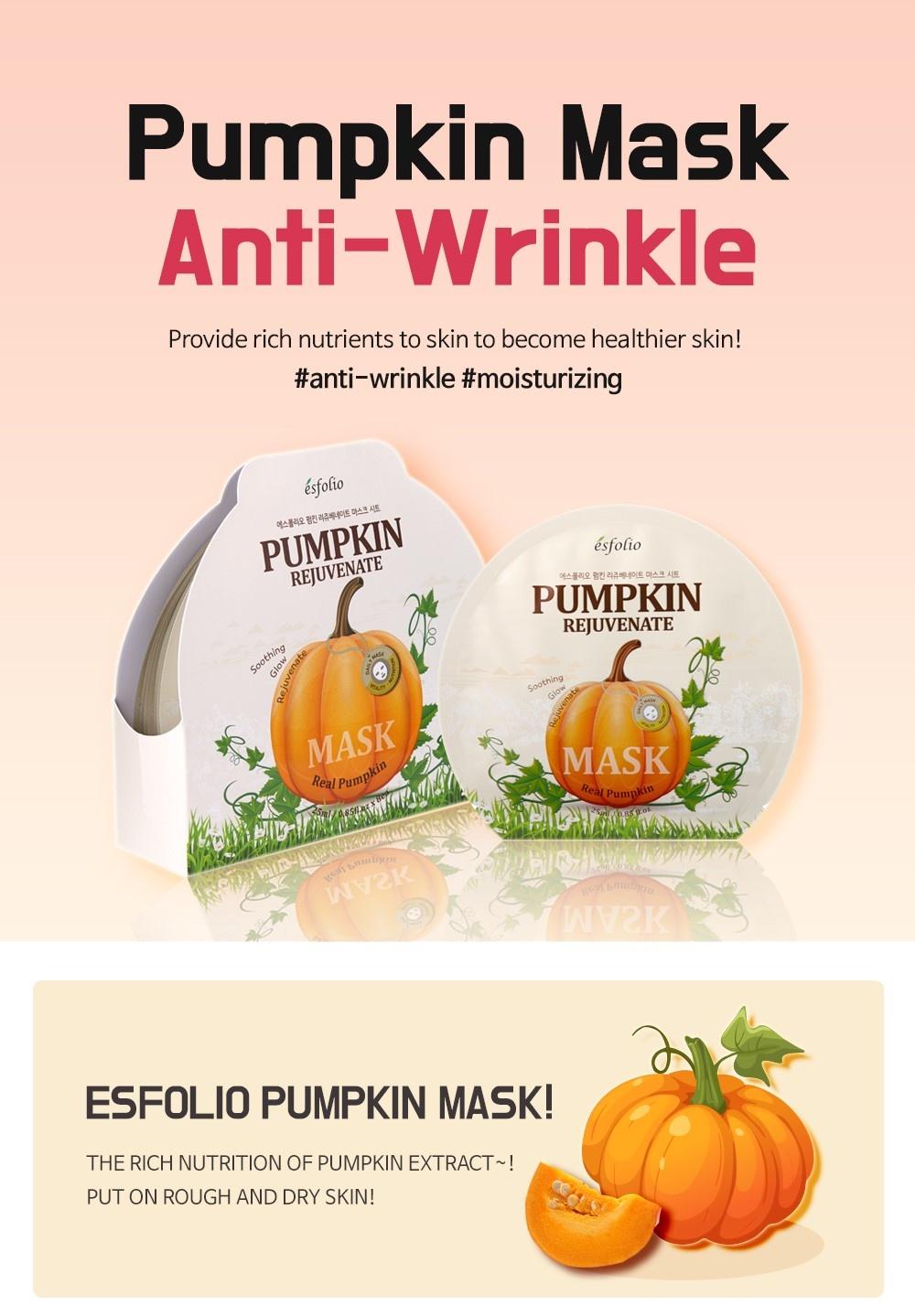 Pumpkin Rejuvenate Sheet Mask-2