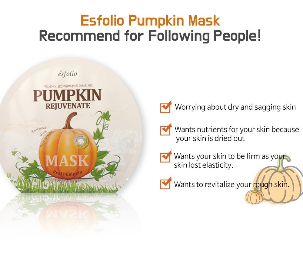 Pumpkin Rejuvenate Sheet Mask-5