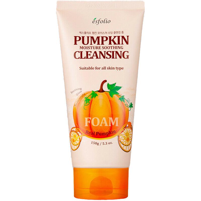 Pumpkin Moisture Soothing Cleansing Foam-1