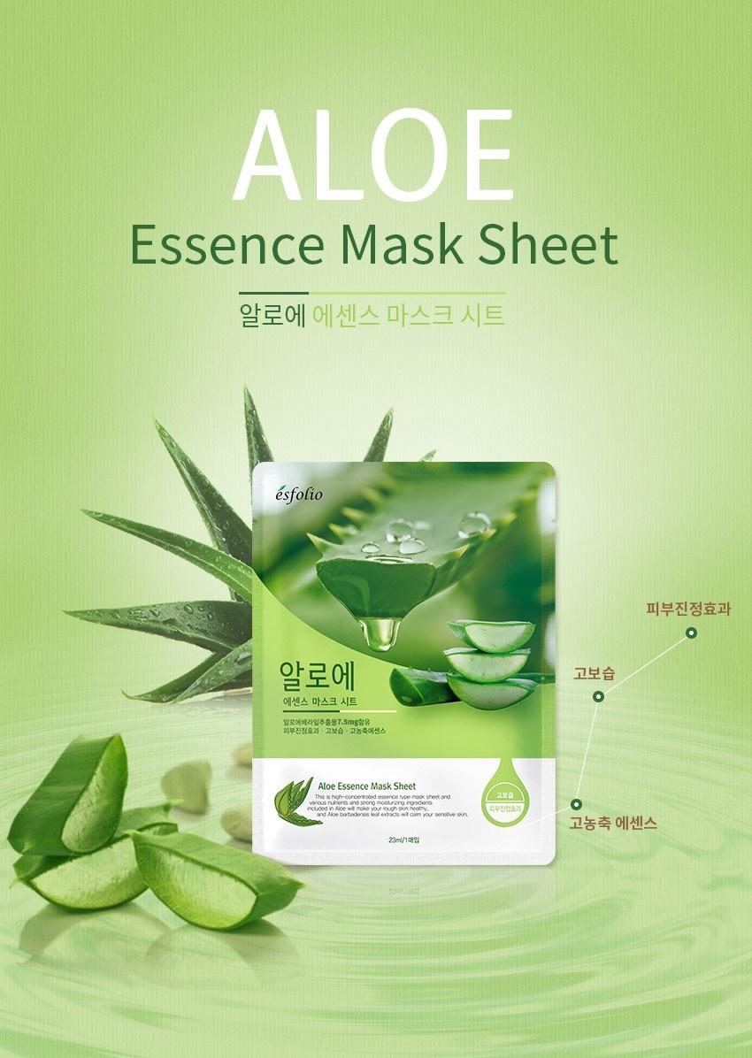 Aloe Essence Mask Sheet-2