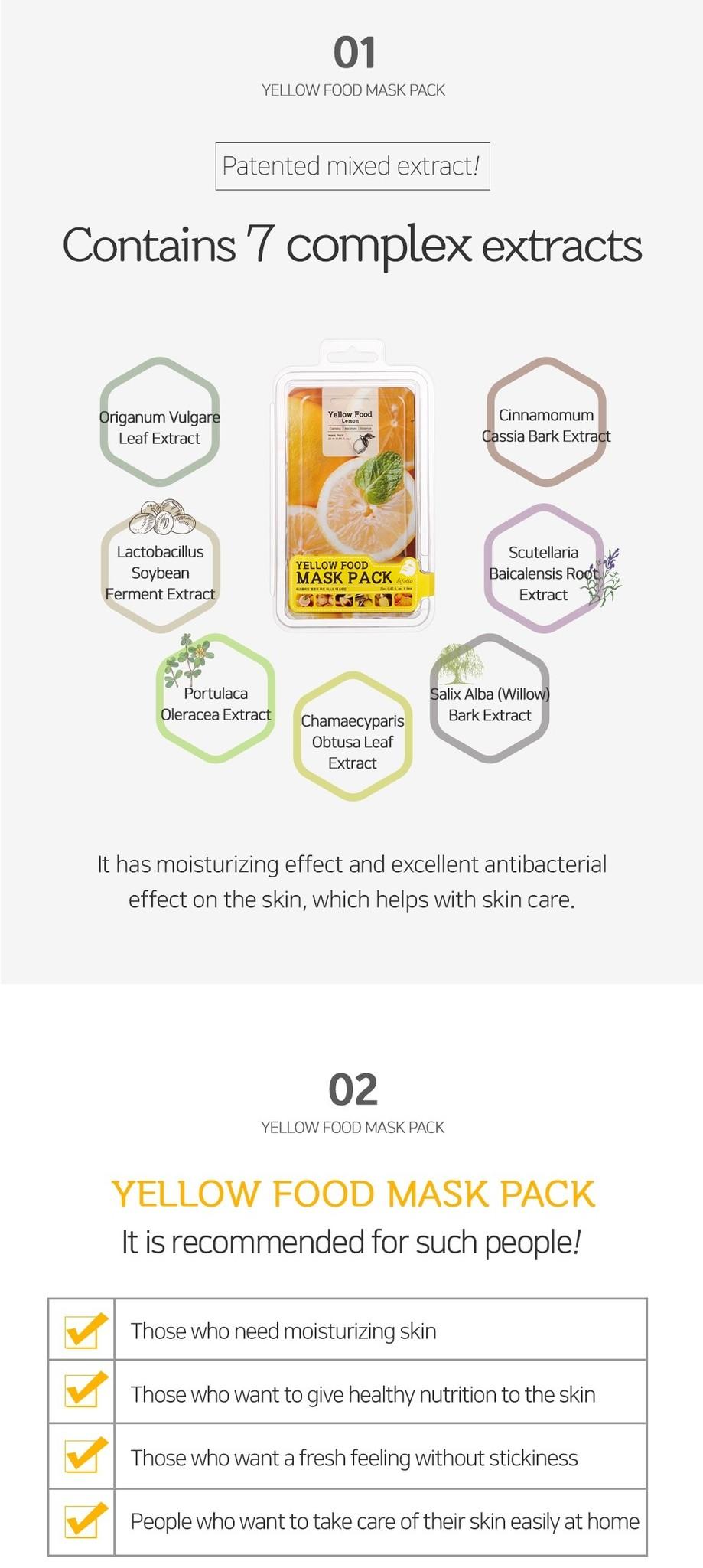 Yellow Food Lemon Mask-3