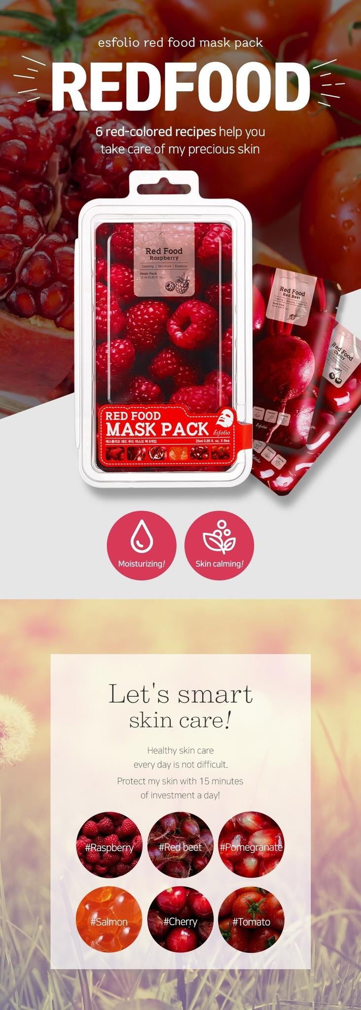Red Food Rasberry Mask-2