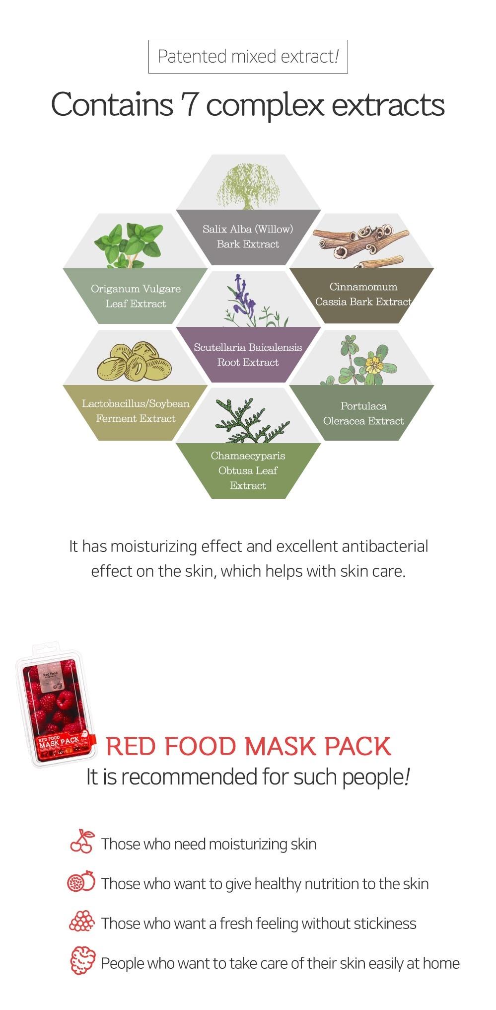 Red Food Rasberry Mask-3