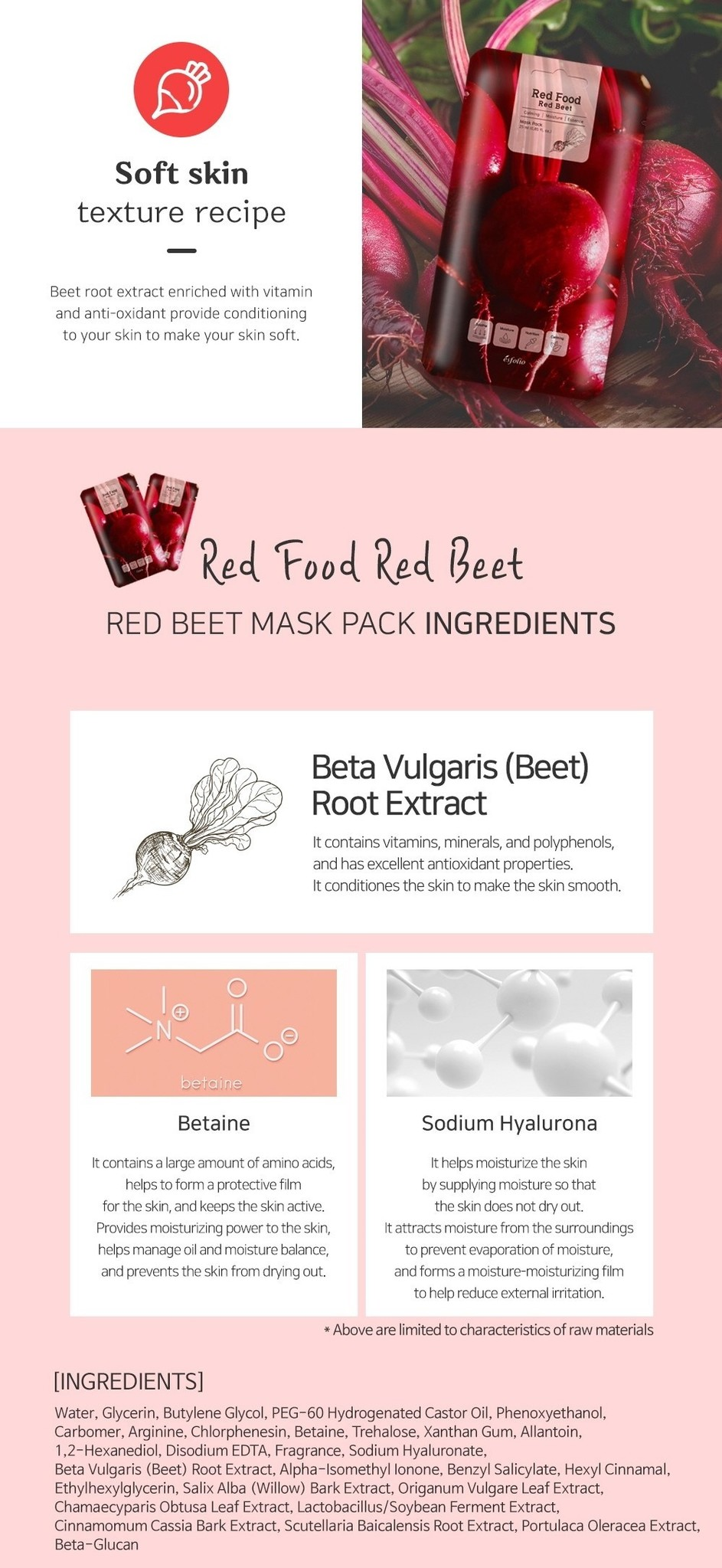 Red  Food  Red Beet  Mask-4