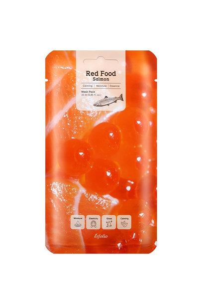 Red  Food  Salmon  Mask