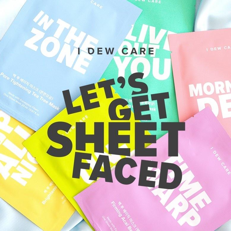 """""""Let's Get Sheet Faced"""" Sheet Mask Set (14 pcs)-3"""
