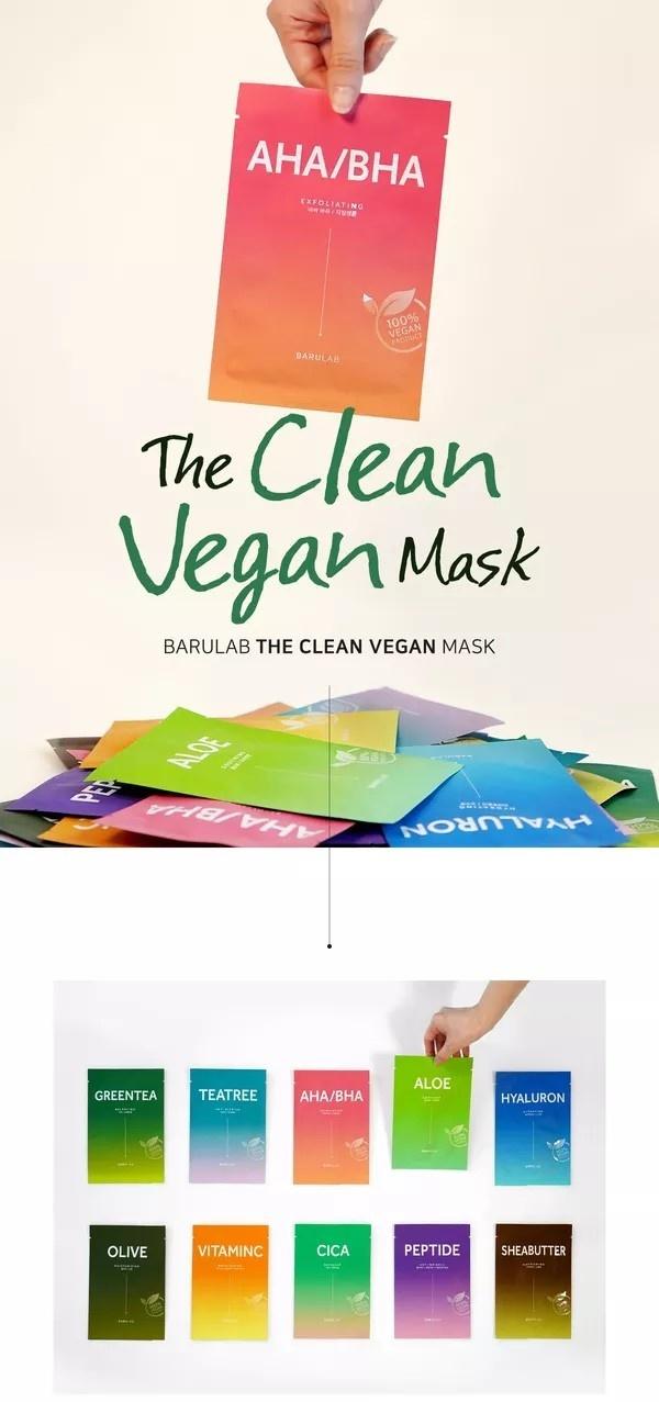 The Clean Vegan Mask - 10 Stk Mix Pack-2