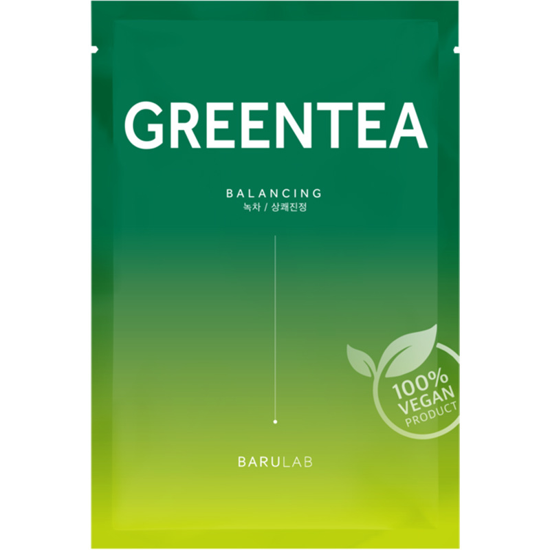 The Clean Vegan Mask - Green Tea-1