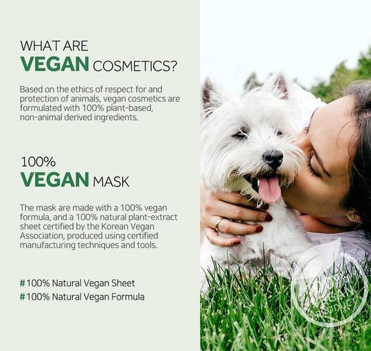 The Clean Vegan Mask - Olive-3