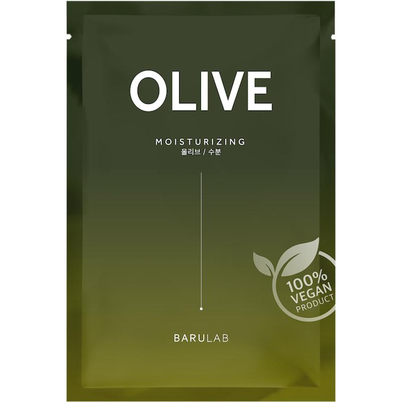 The Clean Vegan Mask - Olive-1
