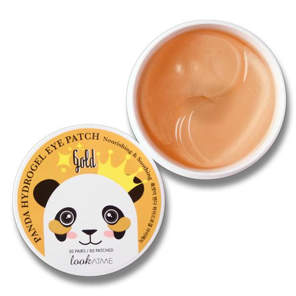 Panda Hydrogel Eye Patch Gold-1
