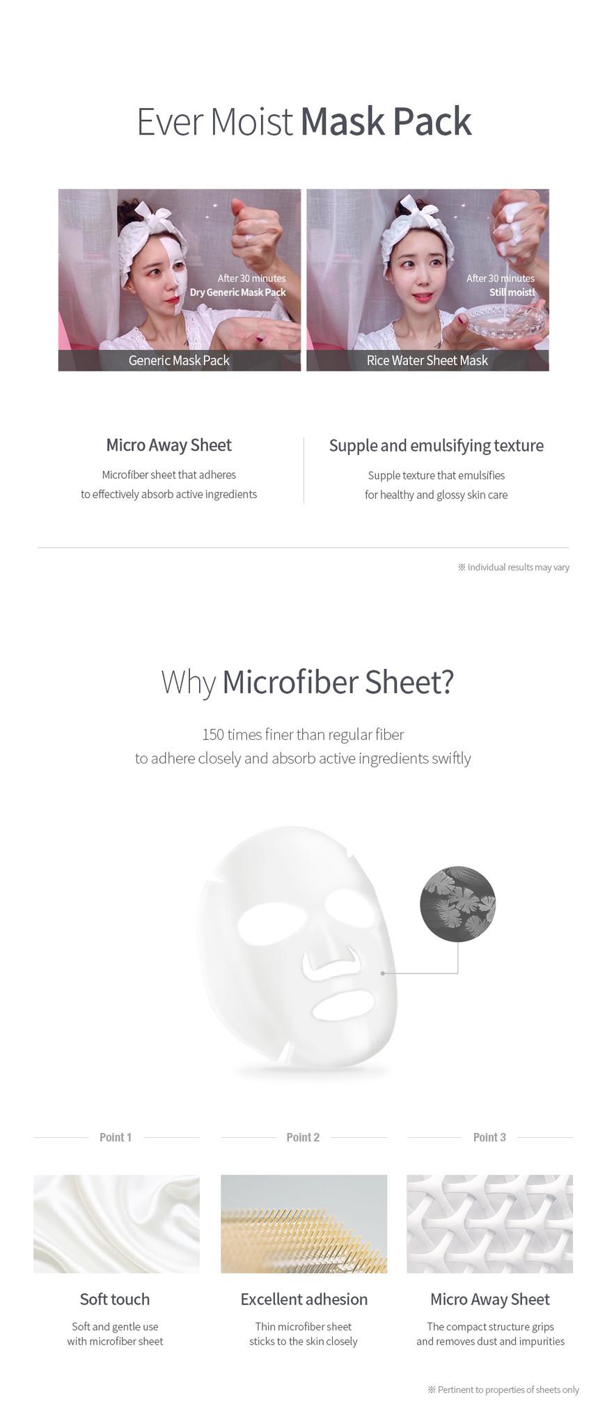 Rice Water Sheet Mask (1+1 pcs)-3