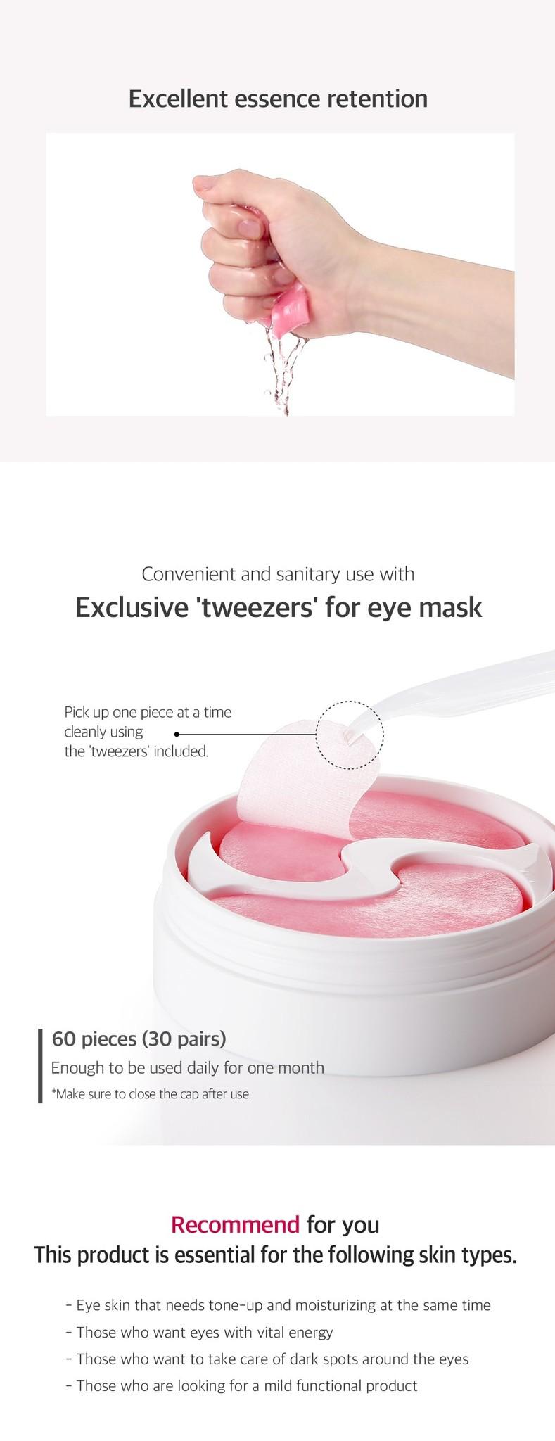 Pink Vita Brightening Eye Patch-5