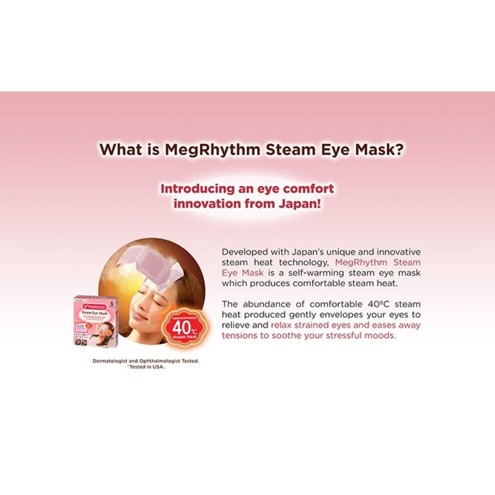 Kao MegRhythm Steam Eye Mask - For Men (1 Stk)