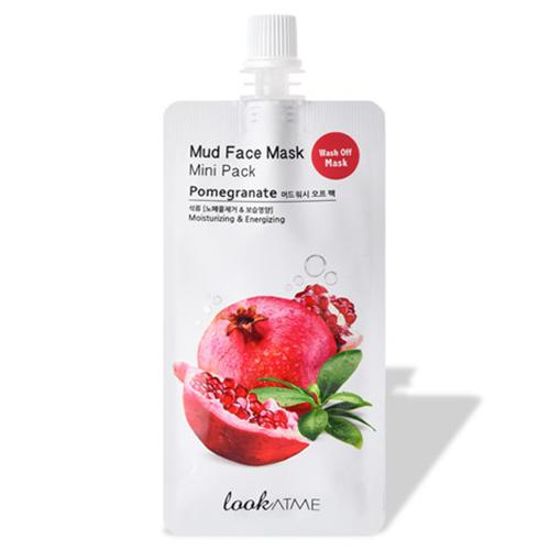 Mud Wash Off Mask (Pomegranate)-1