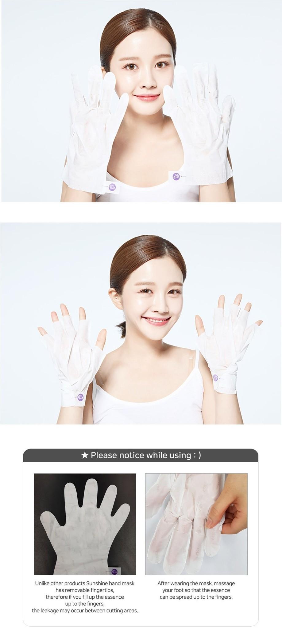 Sunshine Moisturizing Hand Mask-3