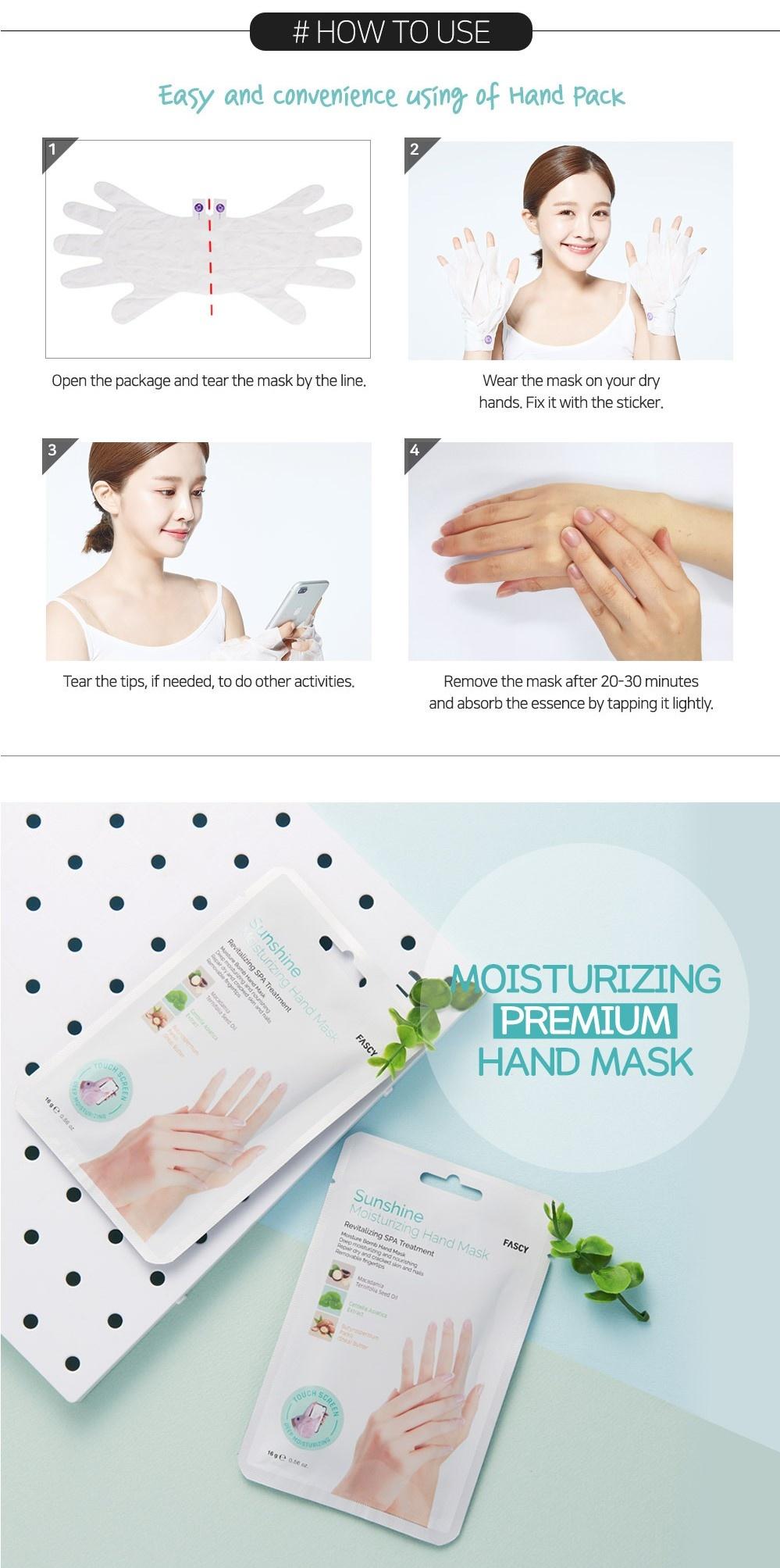 Sunshine Moisturizing Hand Mask-10