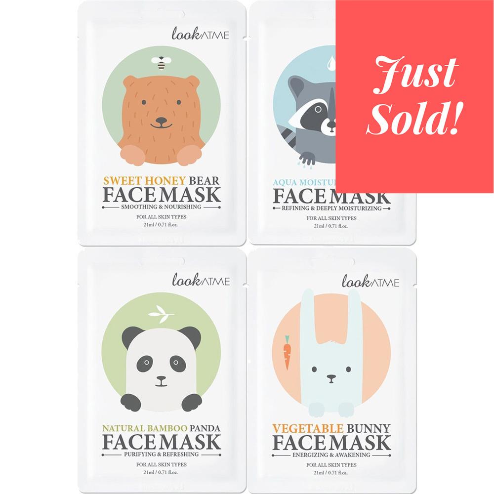 Face Mask Trial Mix (4 pcs)-1