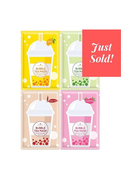 Bubble Tea Silk Mask Trial Mix (4 pcs)