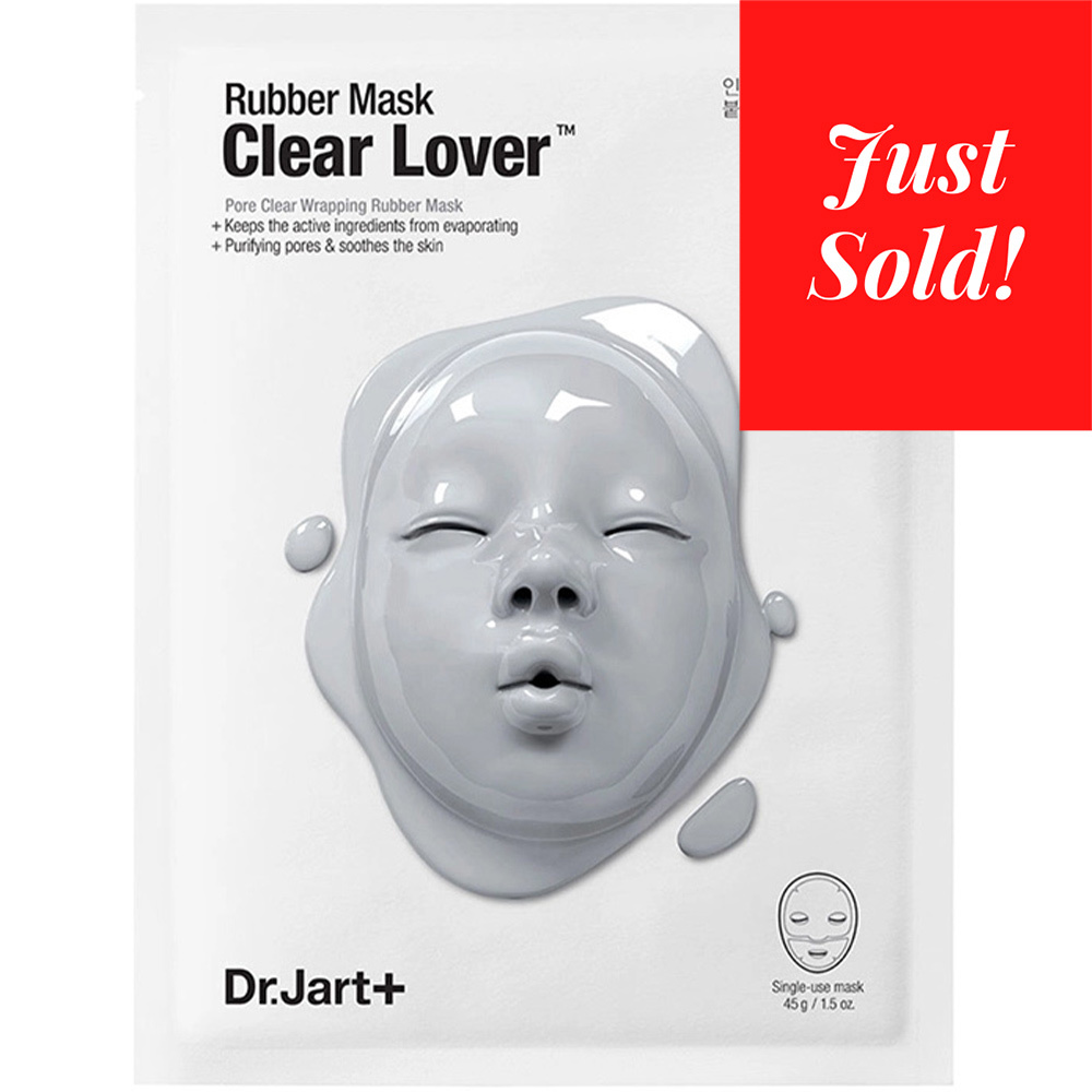 Rubber Mask Clear Lover-1