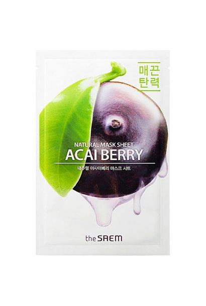Natural Acai Berry Mask Sheet
