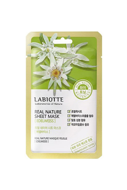 Real Nature Sheet Mask Edelweiss
