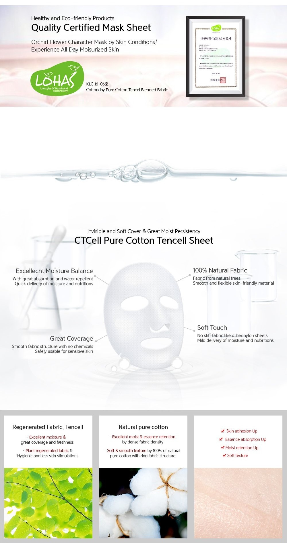 Orchid Flower Sheet Mask Mix Set (5 pcs)-3