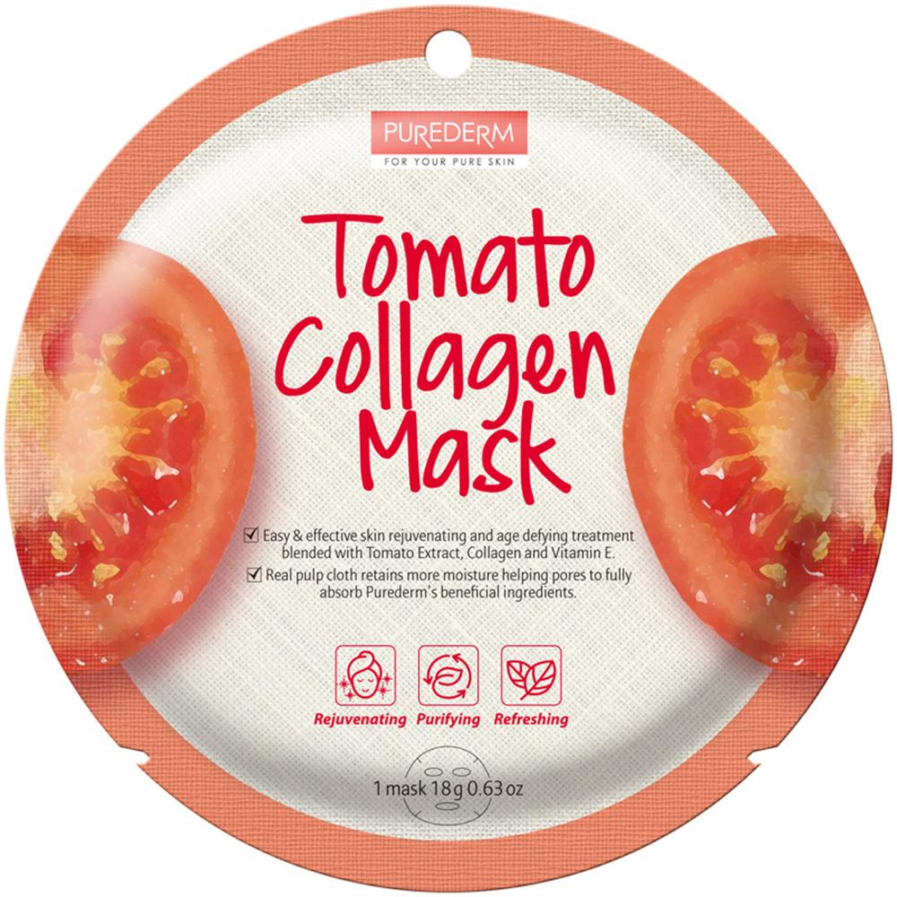 Circle Mask - Tomato Collagen-1