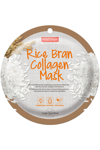 Circle Mask - Rice Bran Collagen