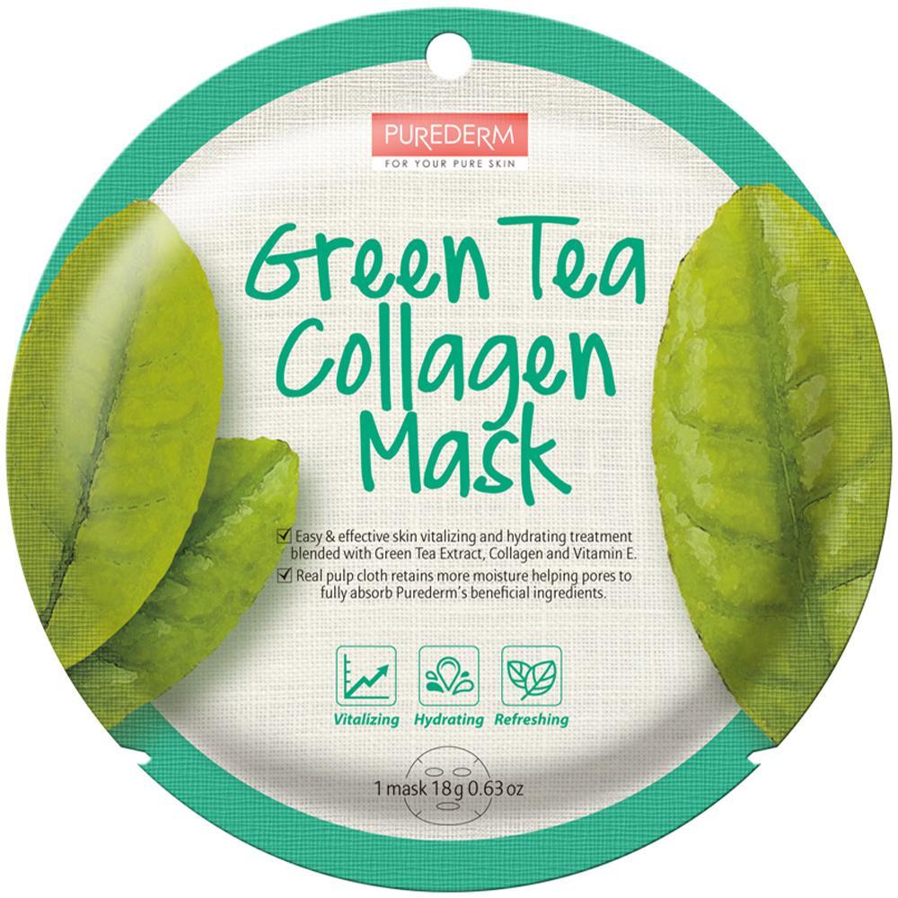 Circle Mask - Green Tea Collagen-1