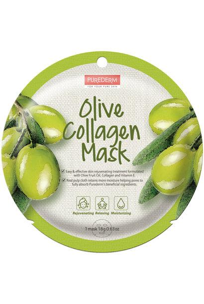 Circle Mask - Olive Collagen