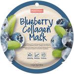 PUREDERM Circle Mask - Blueberry Collagen